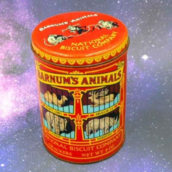 Vintage 1979 Nabisco Barnum's Animals Crackers Tin